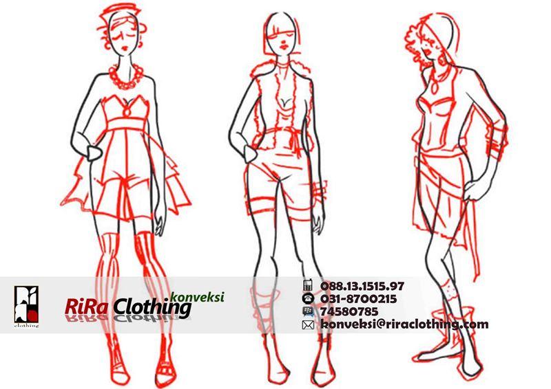 menggambar-desain-baju