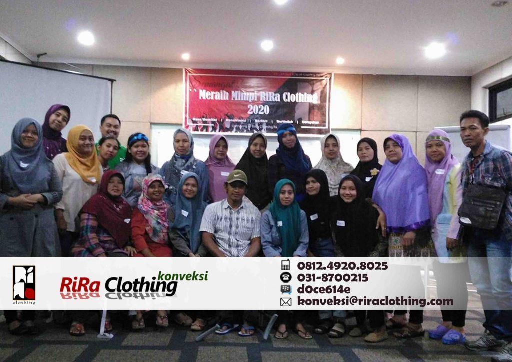 Gathering RiRa Clothing Konveksi Rumahan Surabaya