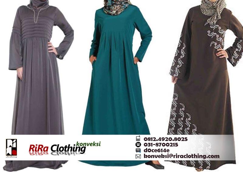 Hasil Konveksi Baju Muslim Murah