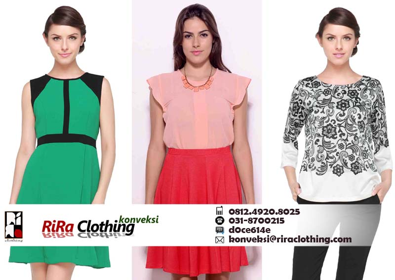 Hasil Konveksi Fashion Online Shop