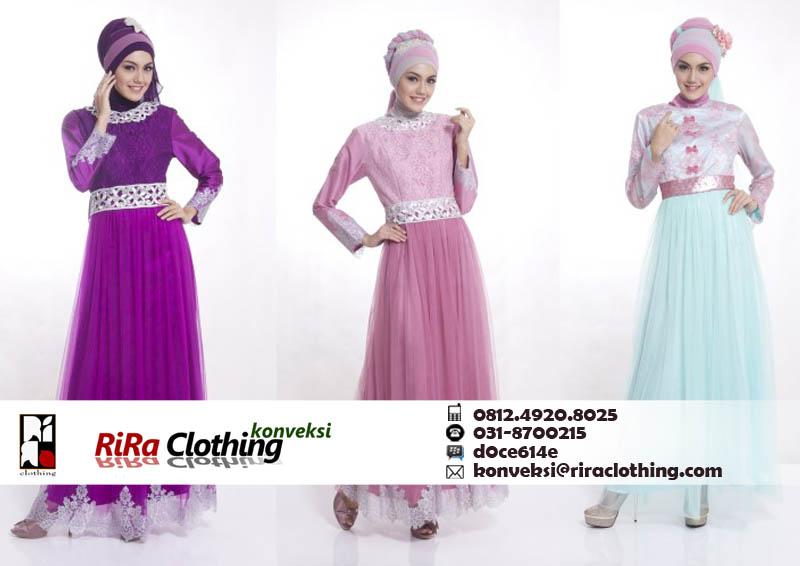 Hasil Konveksi Hijab Fashion