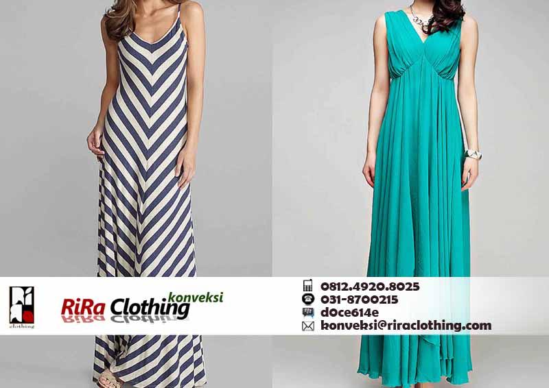 Hasil Konveksi maxi Dress Online