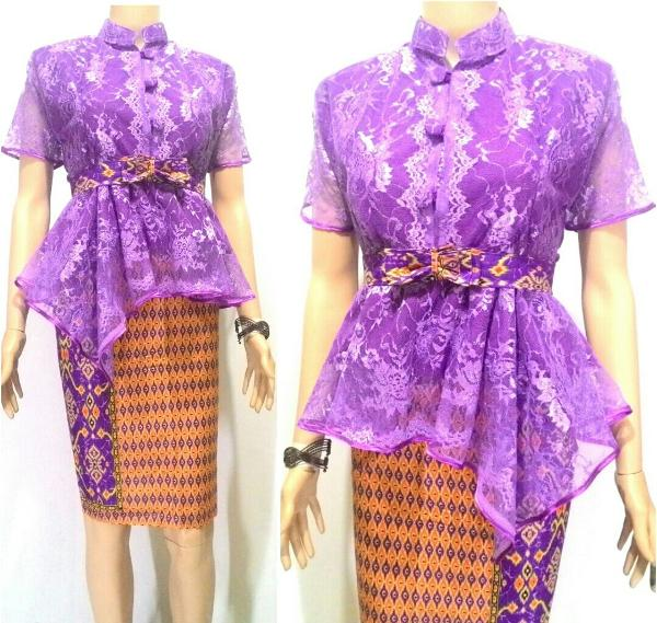 Blouse Brokat