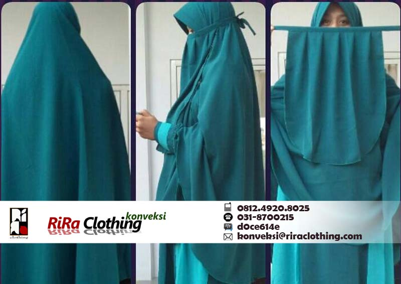 Konveksi Jilbab Cadar