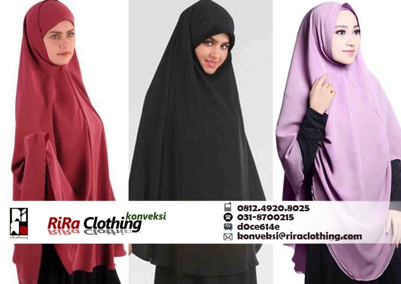 Memilih Bahan Yang Tepat Untuk Jilbab Syar'i